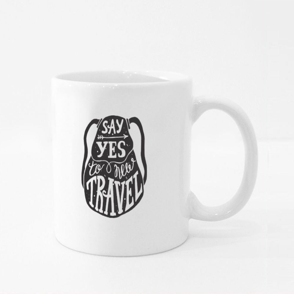 Say Yes to New Travel Colour Mugs