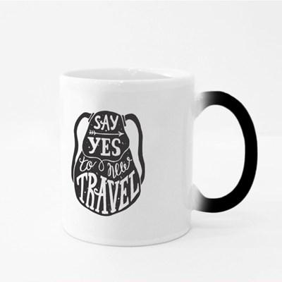 Say Yes to New Travel Magic Mugs