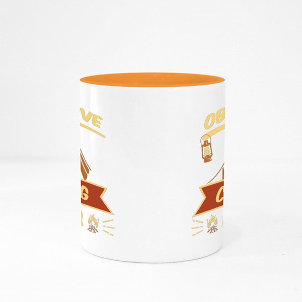 Obsessive Camping Disorder Colour Mugs