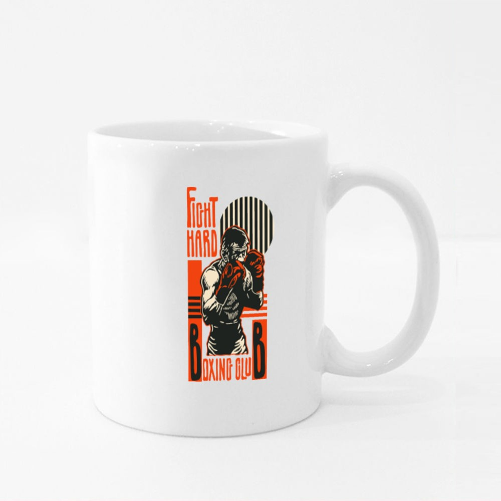 Fight Hard Fighter Colour Mugs