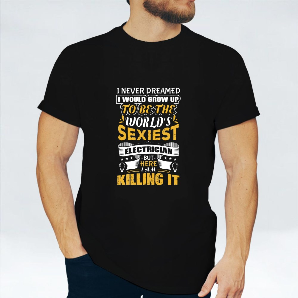 World's Sexiest Electrician T-Shirts