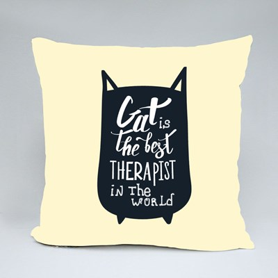 Best Therapist in the World Throw Pillows
