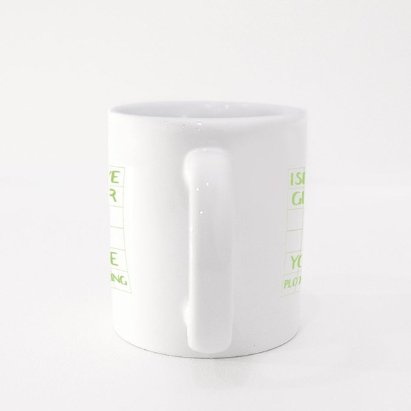 I See You Have Graphpaper Colour Mugs