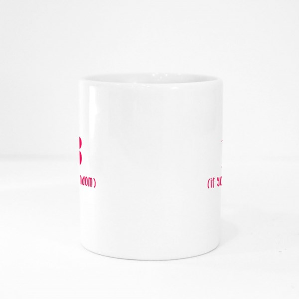 1 Plus 1 Equals to 3 Colour Mugs