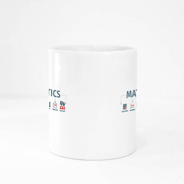 Mathematicals Method Steps Colour Mugs
