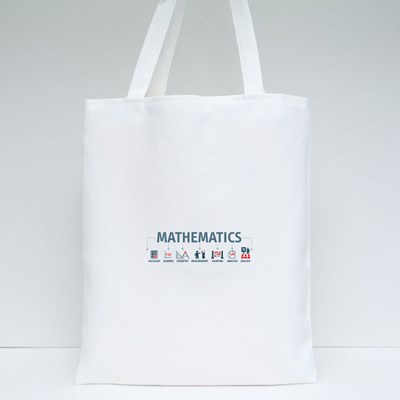 Mathematicals Method Steps Tote Bags