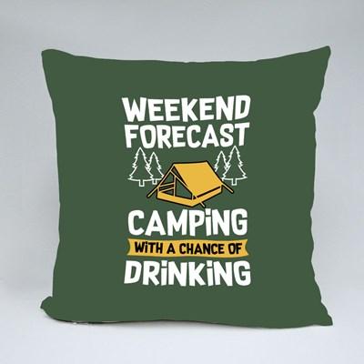 Weekend Forecast Throw Pillows