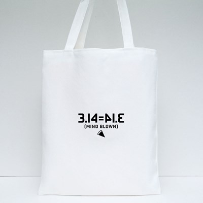 3.14 Equals to Pie Mind Blown Tote Bags