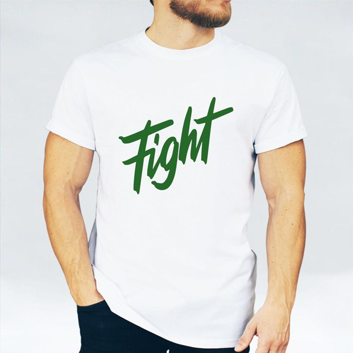 Motivational Fight Letters T-Shirts