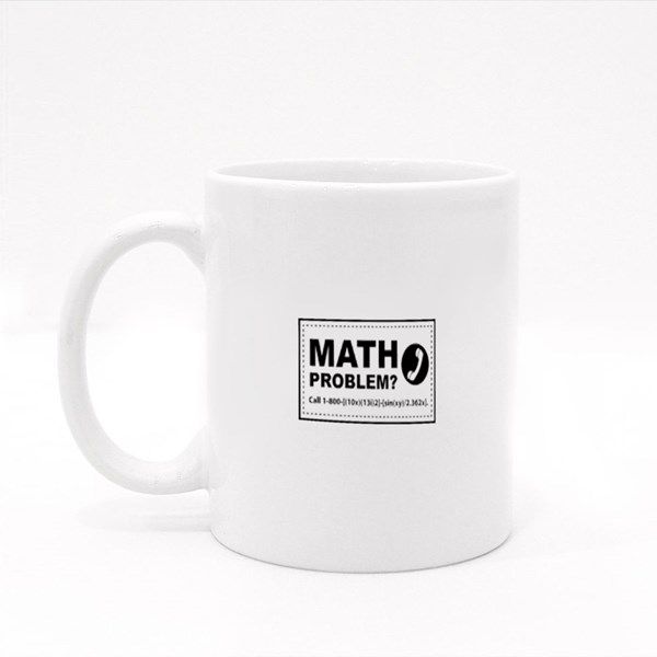 Math Problem Call Me Colour Mugs