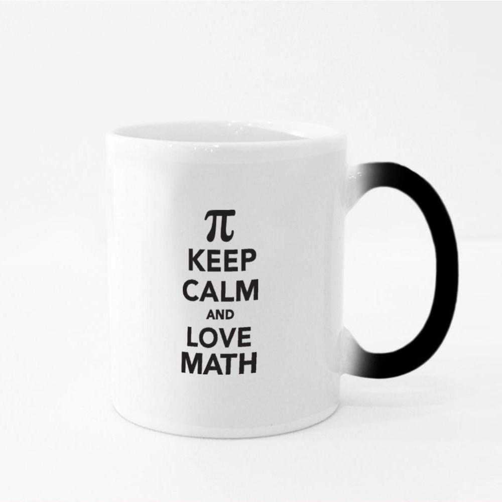 Keep Calm and Love Math Magic Mugs