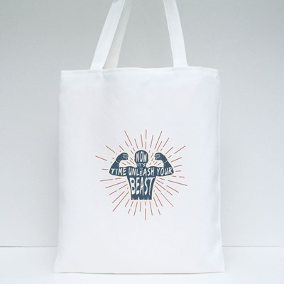 Unleash Your Beast Tote Bags
