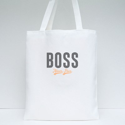 Boss Never Poor 帆布袋