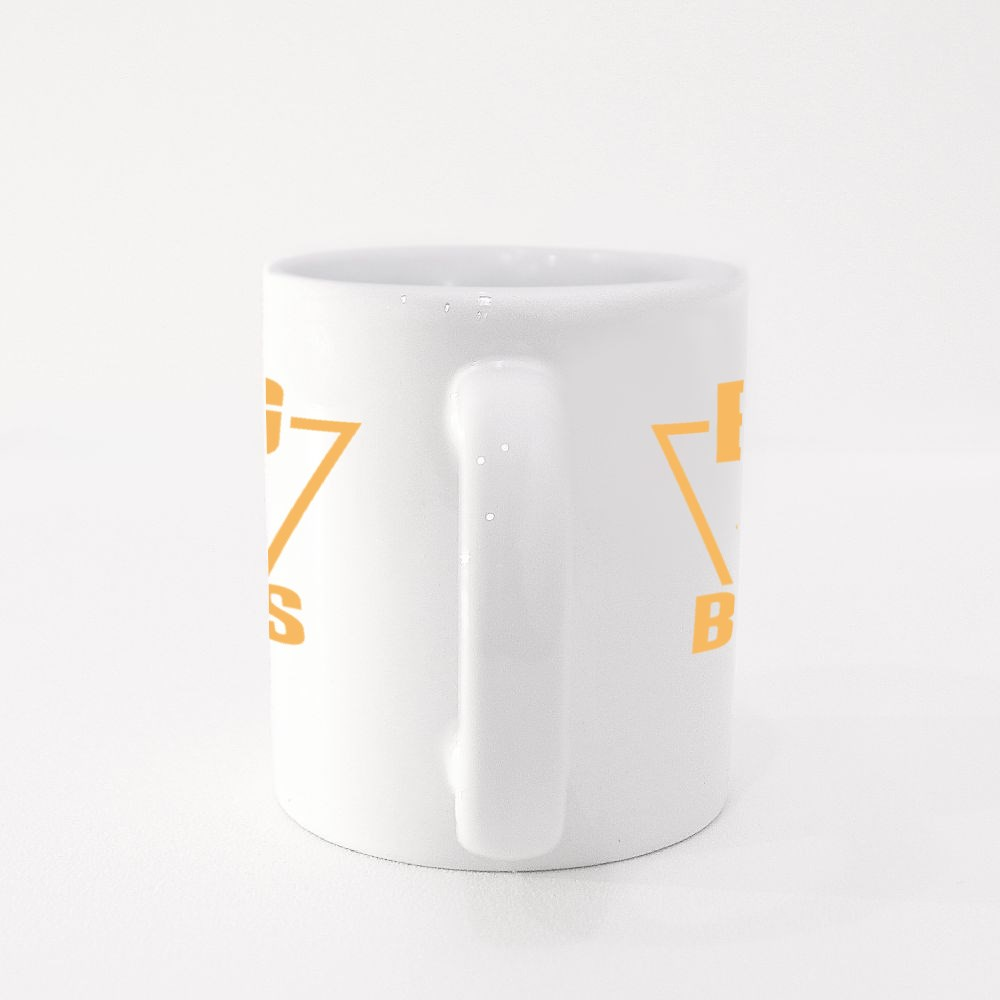 Big Boss Typography Colour Mugs