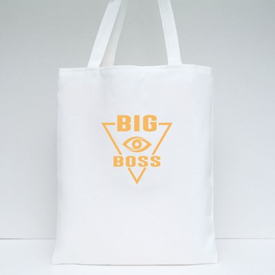 Big Boss Typography Tote Bags
