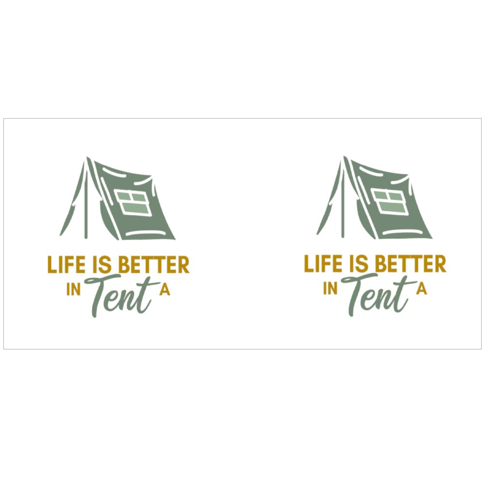 Life Is Better in a Tent Magic Mugs