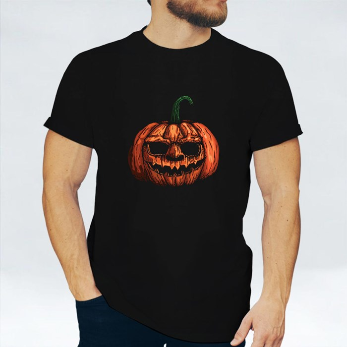 Halloween Pumpkin Head T-Shirts