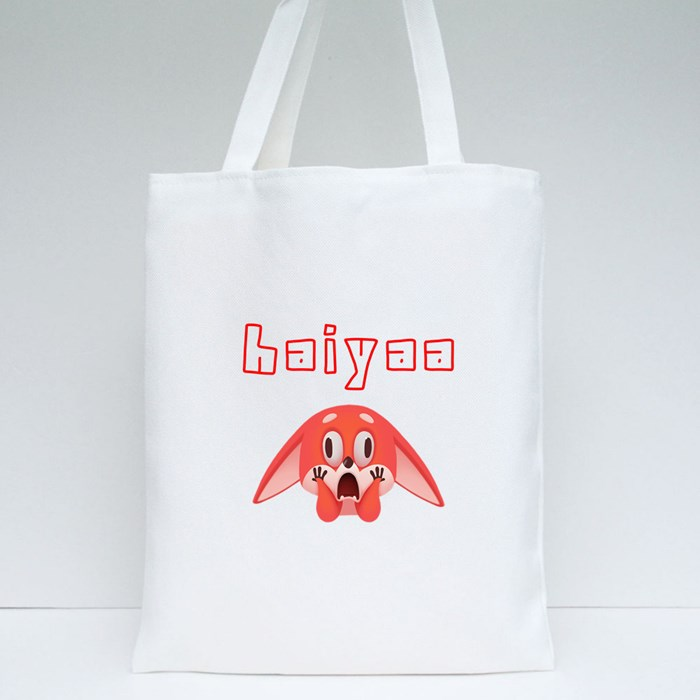 Haiyaa I Can't Believe It Tote Bags