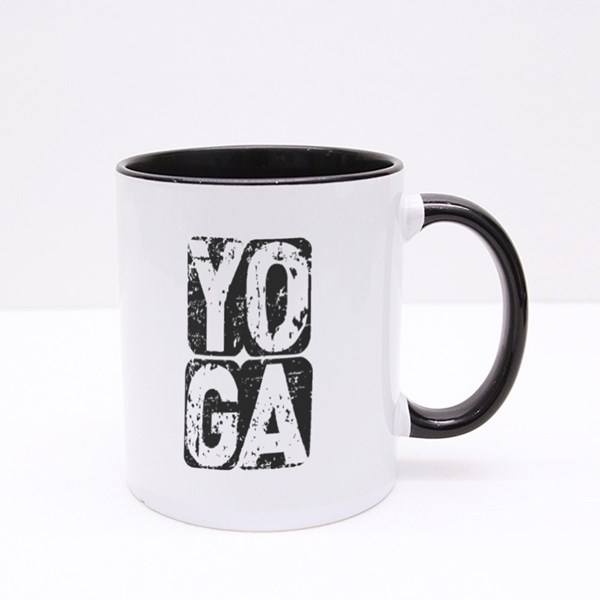 Motivative Yoga Colour Mugs