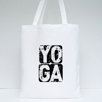 Motivative Yoga Tote Bags