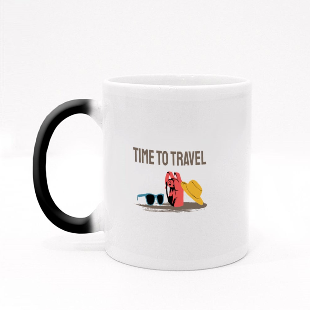 Time to Travel the World Magic Mugs