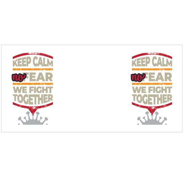 We Fight Together Colour Mugs