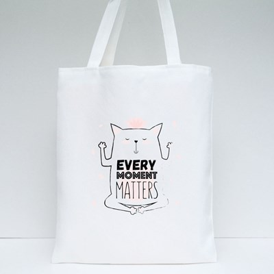 Every Moment Matters Tote Bags