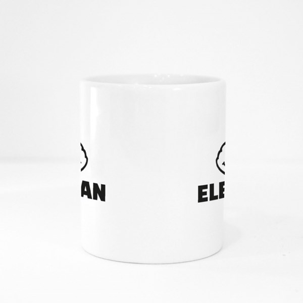 Electrician With Thumbs Colour Mugs