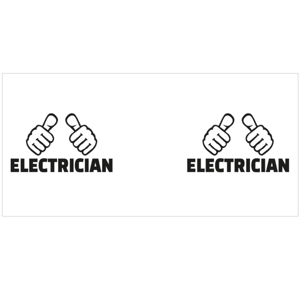 Electrician With Thumbs Magic Mugs