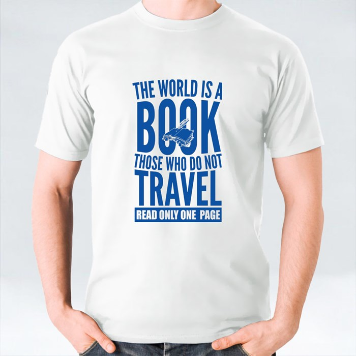 The World Is a Book T-Shirts