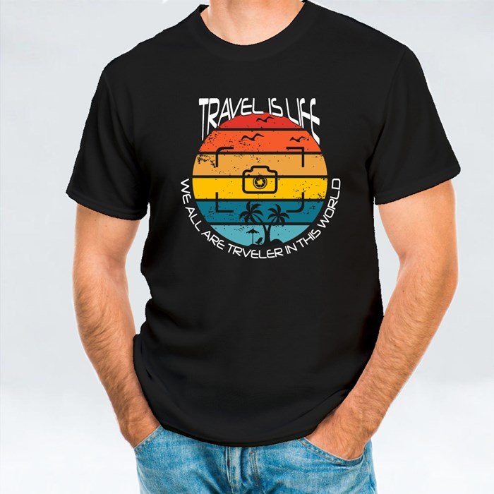 Travels Is Life T-Shirts