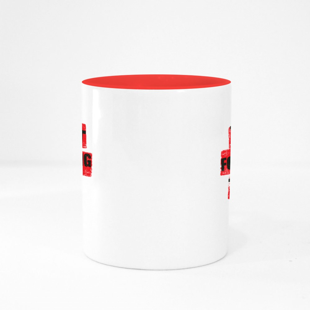 Better to Fight for Something Colour Mugs