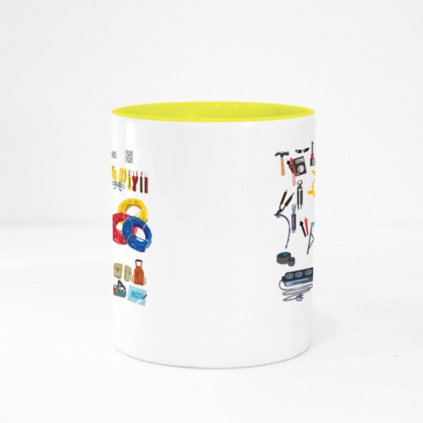 Electronic Equipments Colour Mugs