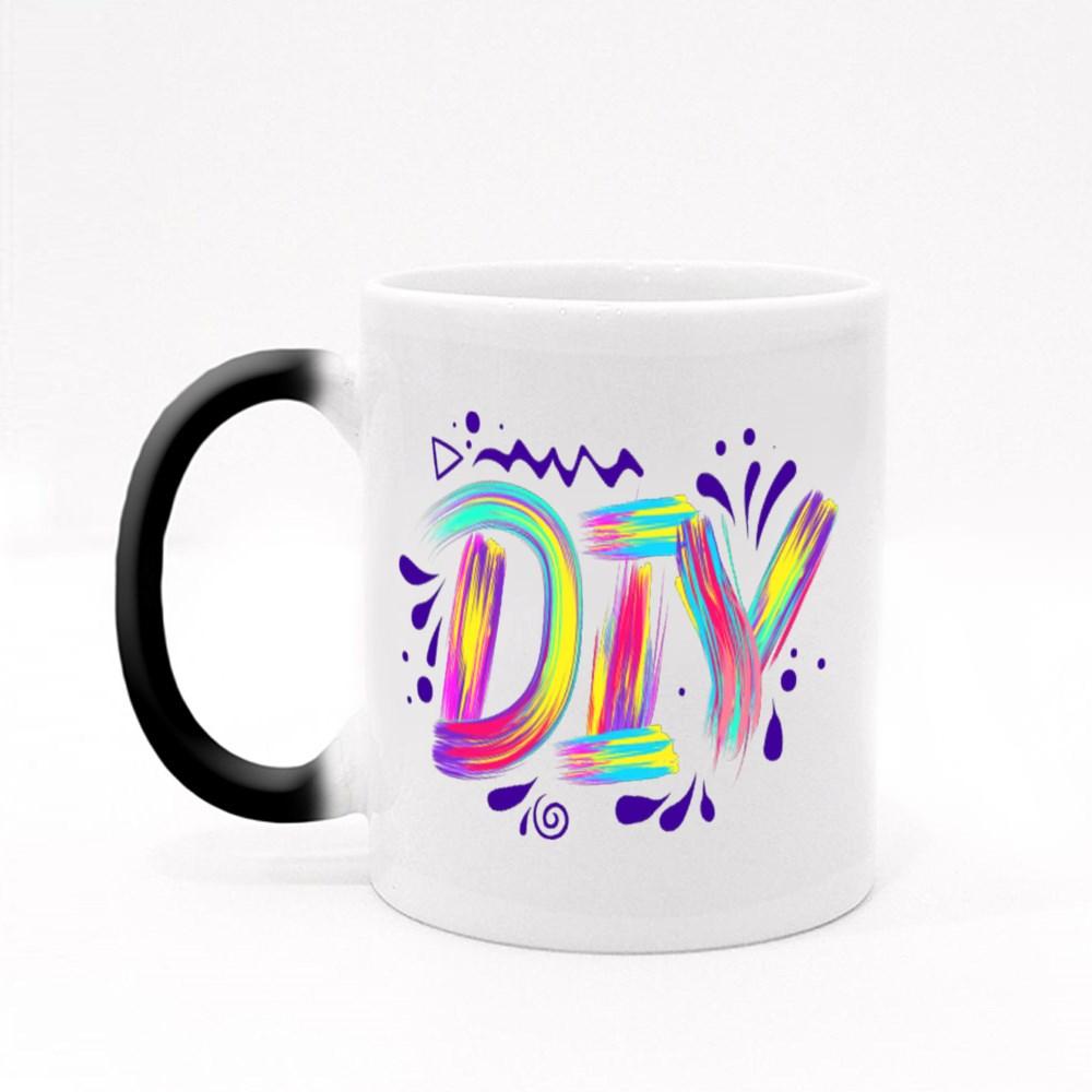 Diy Lettering  Colorful Stroke Magic Mugs