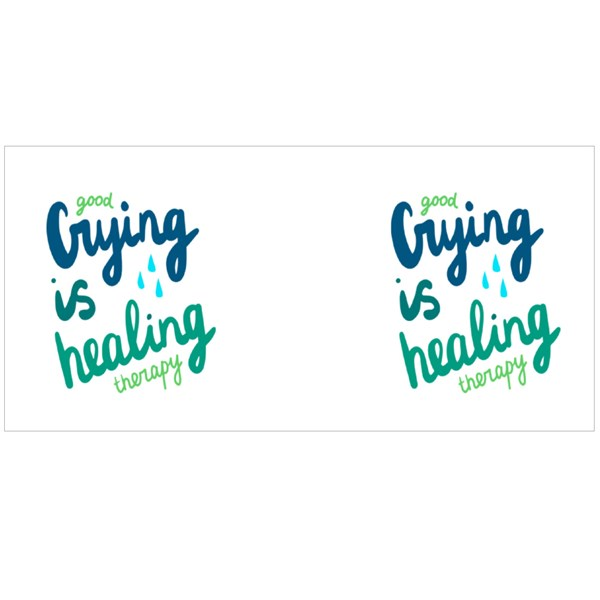 Good Crying Is Healing Therapy Colour Mugs