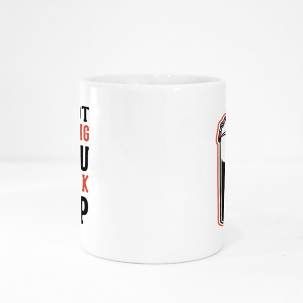You Can Back It Up Colour Mugs