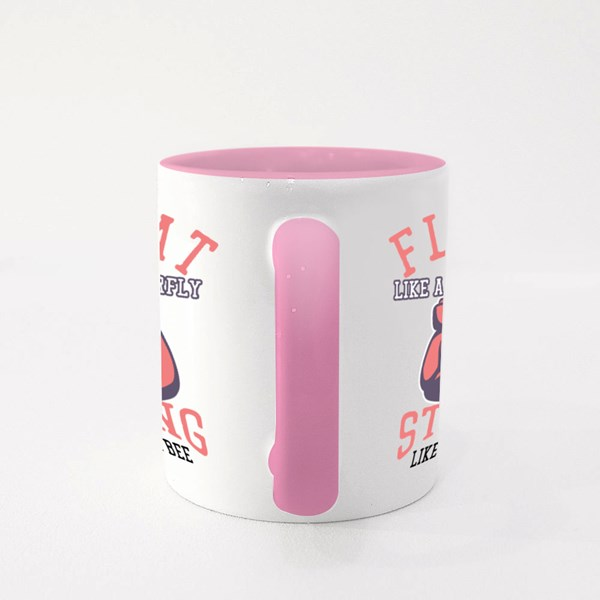 Float Like a Butterfly Colour Mugs