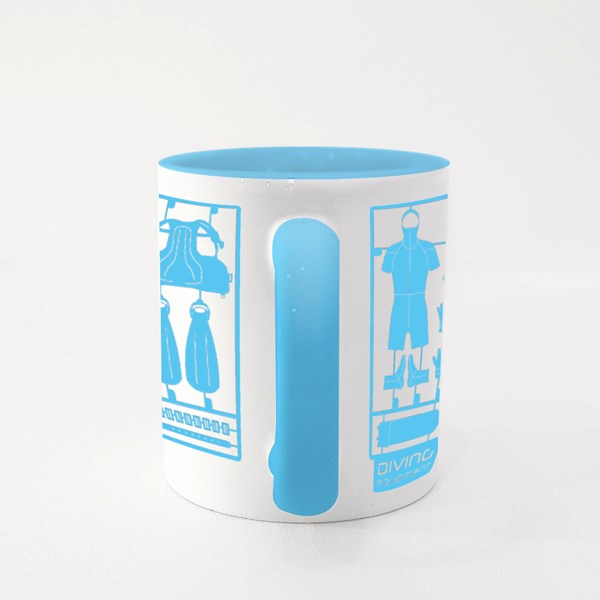 Plastic Model Kits Colour Mugs