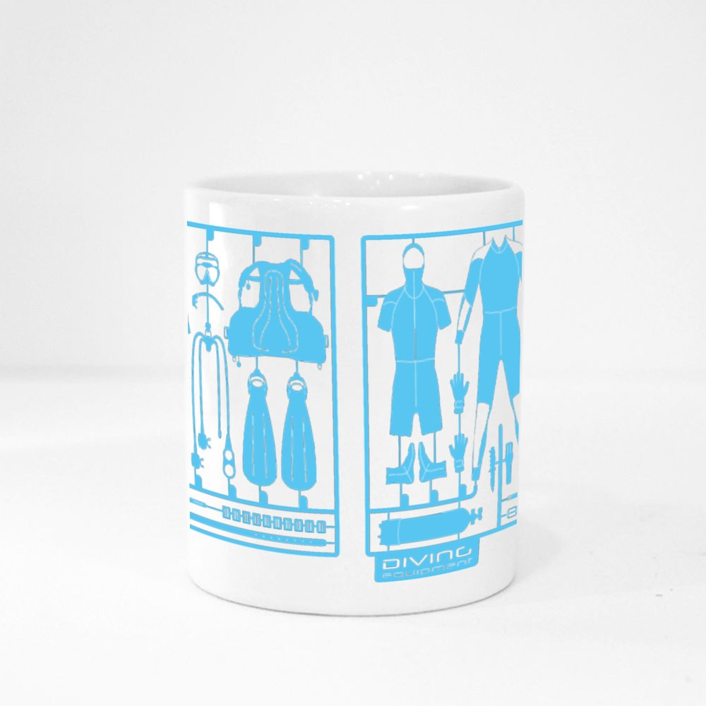 Plastic Model Kits Magic Mugs
