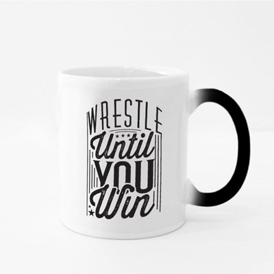 Wrestle Until You Win Magic Mugs