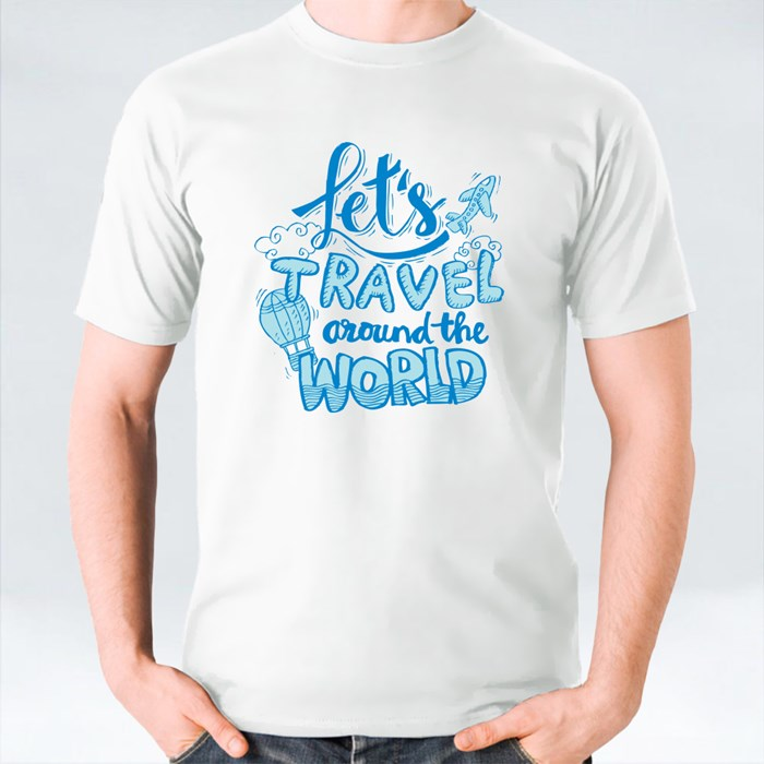 Let's Travel Around the World T-Shirts