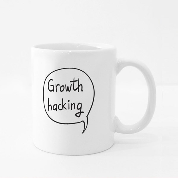 Business Buzzword Growth Hack Colour Mugs