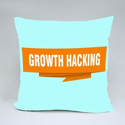 Hacking Sign Origami Speech Throw Pillows