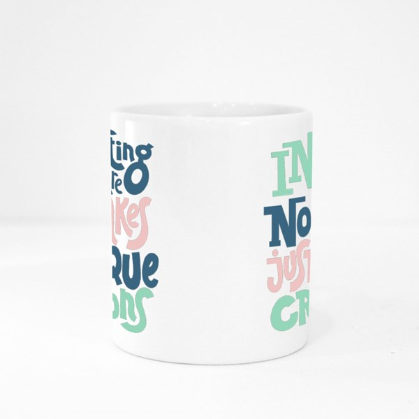 There Are No Mistakes Colour Mugs