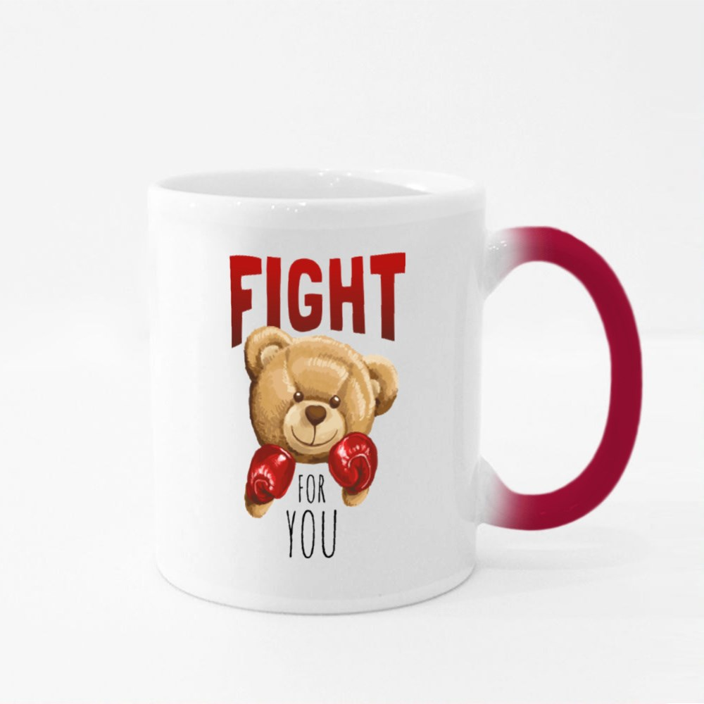 Fight for You Bear Magic Mugs