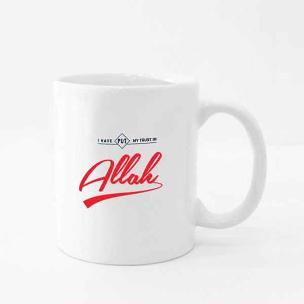I Have Put My Trust in Allah Colour Mugs