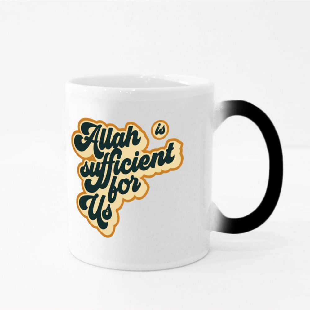 Allah Is Sufficient for Us Magic Mugs