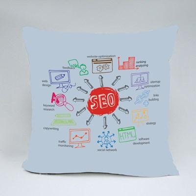 Doodle Scheme Main Activities Throw Pillows