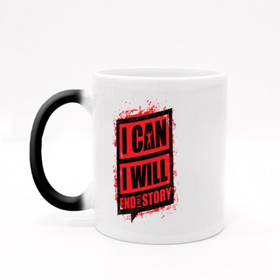 I Can I Will End of Story Magic Mugs