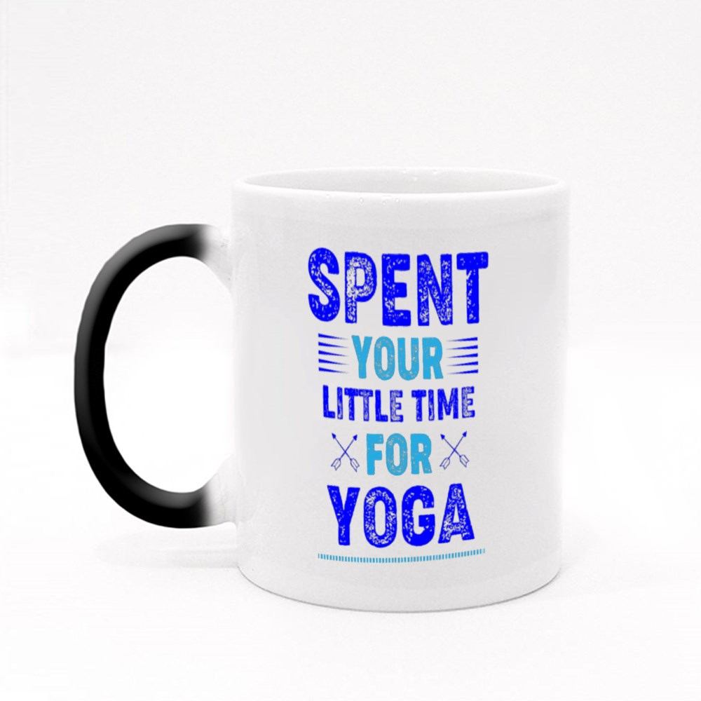 Spent Your Little Time Magic Mugs